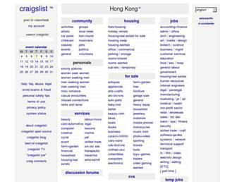 Thumbshot of Craigslist.hk
