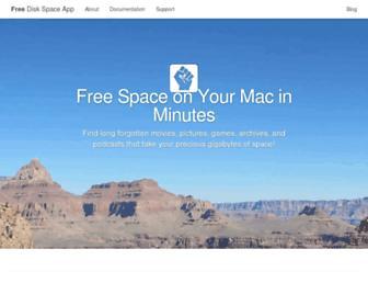 freediskspaceapp.com screenshot