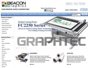 beacongraphics.com screenshot