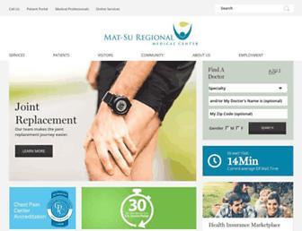 matsuregional.com screenshot