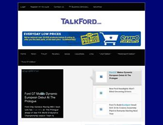 Thumbshot of Talkford.com