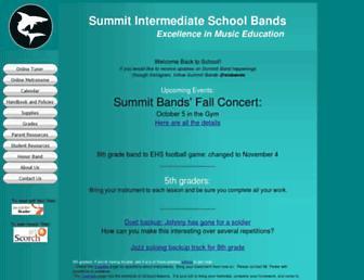 sisbands.org screenshot