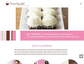 karascupcakes.com screenshot