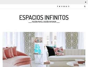espaciosinfinitos.com screenshot