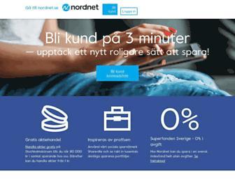 nordnet.se screenshot
