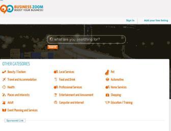 Thumbshot of Businesszoom.com.au