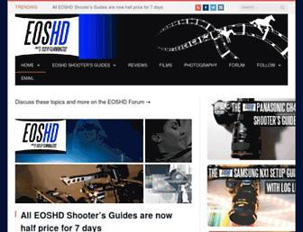 eoshd.com screenshot