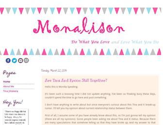 monalison.blogspot.com screenshot