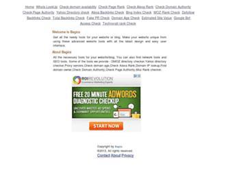 Thumbshot of Bagics.com
