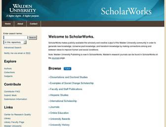 scholarworks.waldenu.edu screenshot