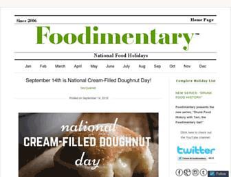 foodimentary.com screenshot