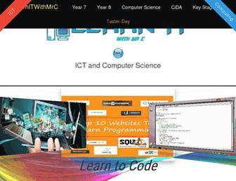 learnitwithmrc.co.uk screenshot