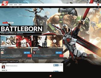 2k.com screenshot