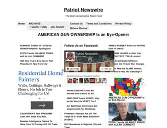 Thumbshot of Patriotnewswire.com