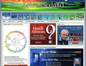astrologyland.com screenshot