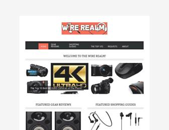 wirerealm.com screenshot