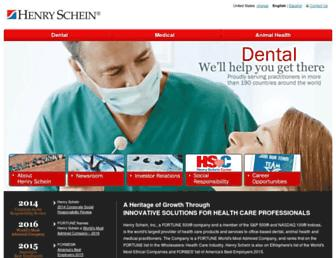 henryschein.com screenshot