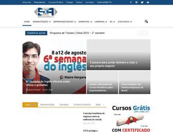 sobreadministracao.com screenshot