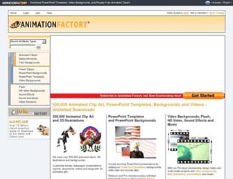 Thumbshot of Animationfactory.com
