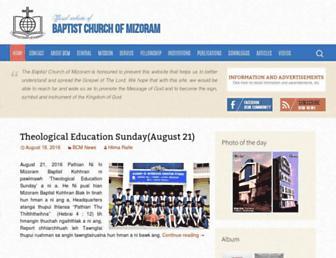 mizobaptist.org screenshot