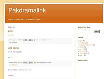 pakdramalink.blogspot.com screenshot