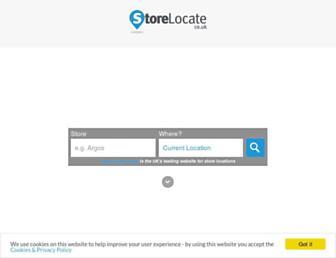 Thumbshot of Storelocate.co.uk