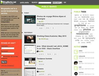 Thumbshot of Blogmarks.net