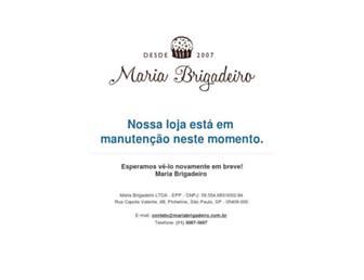 Thumbshot of Mariabrigadeiro.com.br