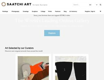 saatchiart.com screenshot