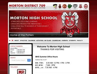 mhs.morton709.org screenshot