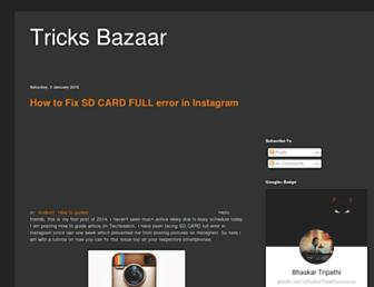 trickbazaar.blogspot.com screenshot