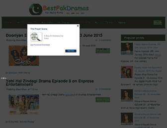 bestpakdramas.blogspot.com screenshot