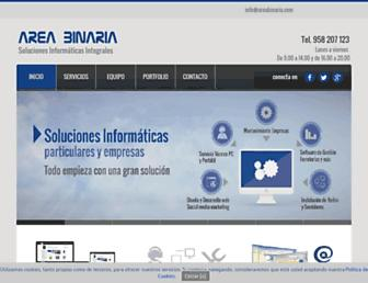 areabinaria.com screenshot