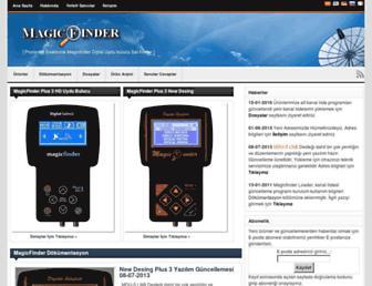 magicfinder.net screenshot