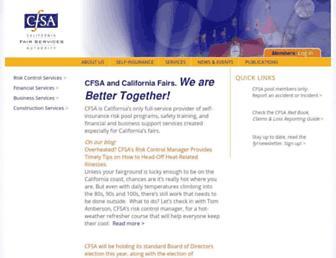 cfsa.org screenshot