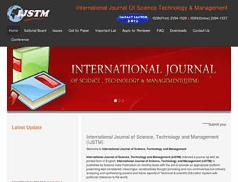 ijstm.com screenshot