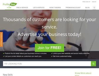 profiletree.com screenshot