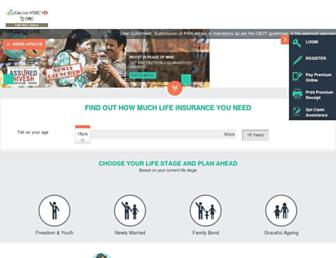 canarahsbclife.com screenshot