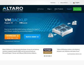 Thumbshot of Altaro.com