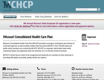 mchcp.org screenshot