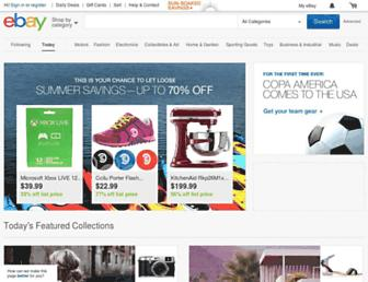 Thumbshot of Ebay.com