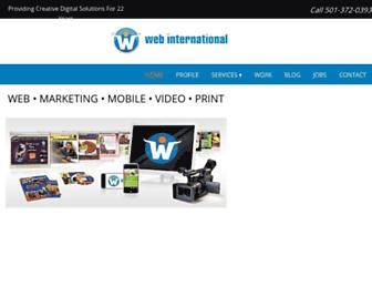 webinternational.net screenshot