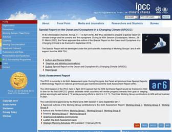 archive.ipcc.ch screenshot