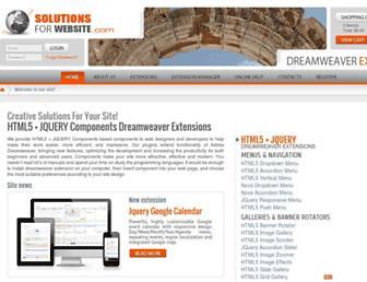 solutions4website.com screenshot