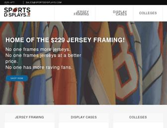 sportsdisplays.com screenshot