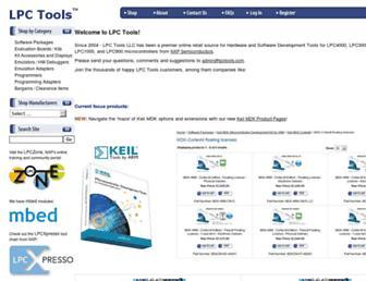 lpctools.com screenshot