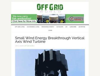 Thumbshot of Offgridworld.com