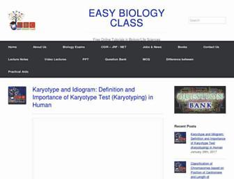 easybiologyclass.com screenshot