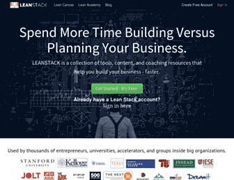 Thumbshot of Leanstack.com