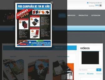 imprenta.pe screenshot